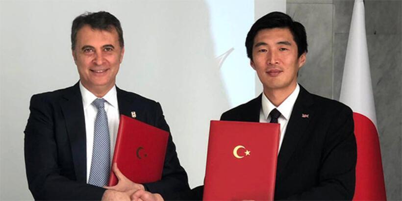 Beşiktaş'a Japonya'dan kardeş kulüp