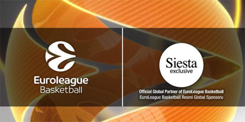 Siesta, THY Avrupa Ligi'ne sponsor oldu