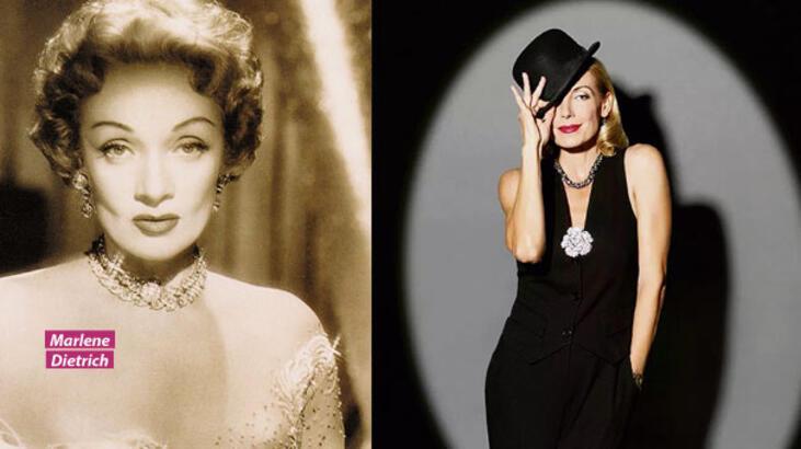 'Marlene Dietrich çığır açan bir kadındı'