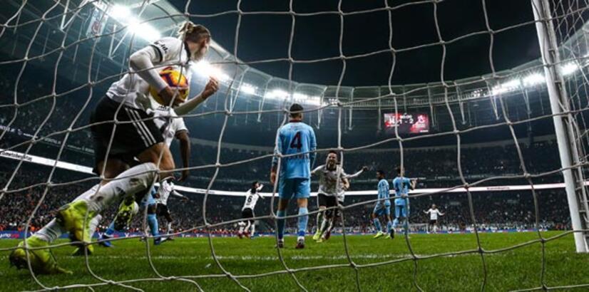 Beşiktaş - Trabzonspor: 2-2