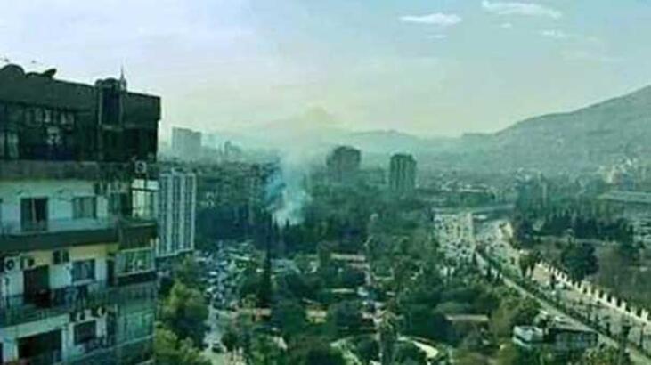 Son dakika: Şam'da patlama! Rus Büyükelçiliği...
