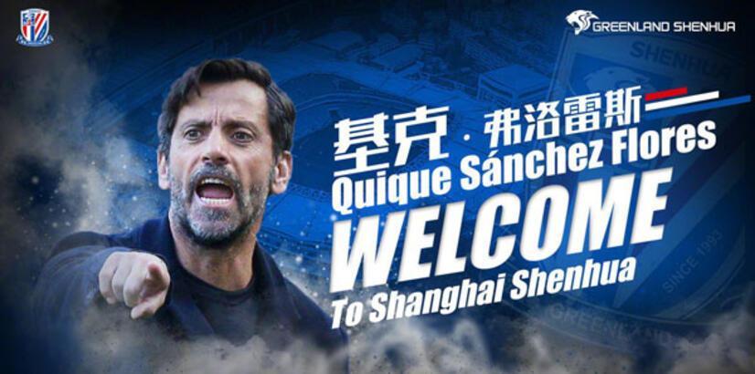 Şanghay Shenhua'da Flores dönemi!