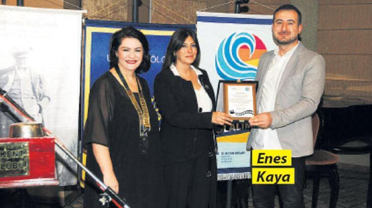 Enes Kaya'ya 'Meslek Hizmet Ödülü'
