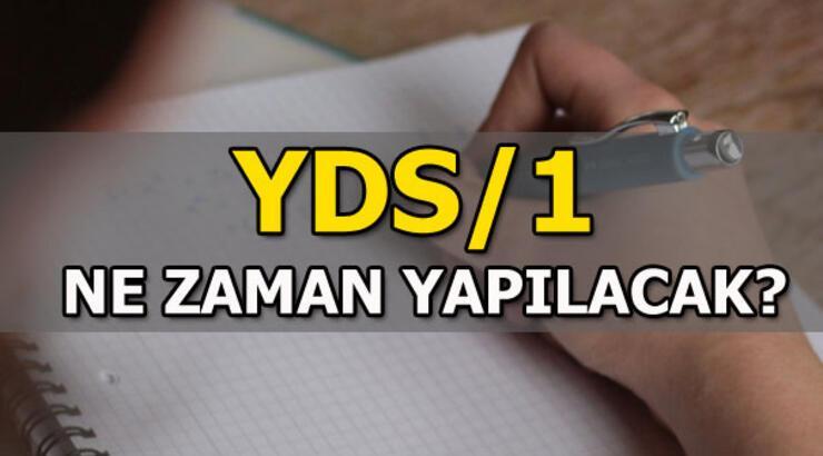 YDS/1 ne zaman yapılacak? (ÖSYM 2019 YDS tarihleri)