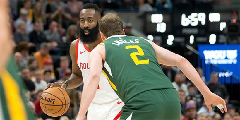 Harden 43 sayı attı, Rockets galibiyete uzandı!