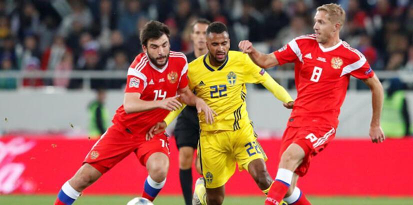 Rusya - İsveç: 0-0
