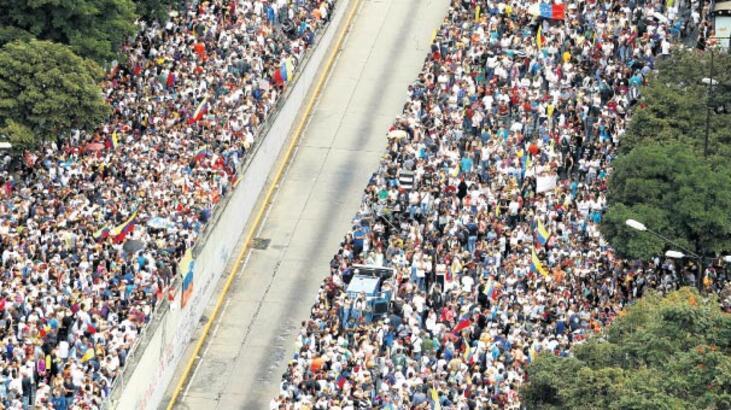 Venezuela'da bir şeyler oluyor!