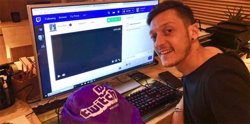 Mesut Özil Twitch'te yayınlara başlıyor...