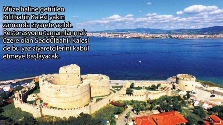 Çanakkale'de hedef turizm zaferi