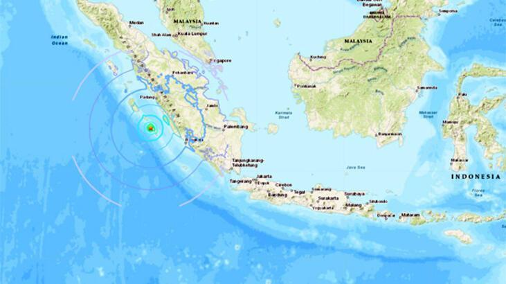 Son dakika... Endonezya'da 6.1 büyüklüğünde deprem