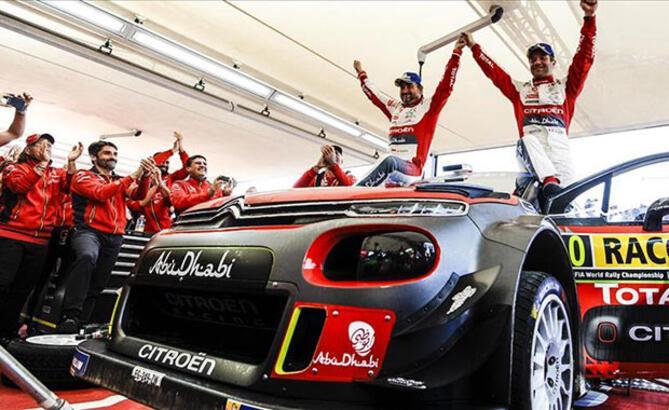 Citroen, İspanya'da birinciliği yakaladı