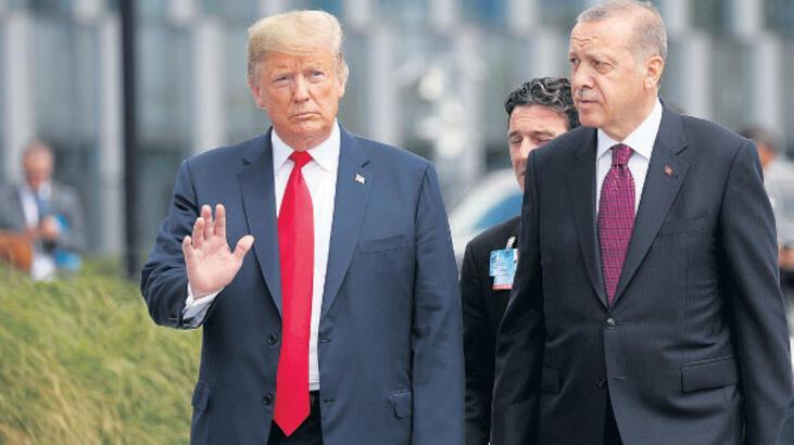 Trump: DAEŞ'i Türkiye bitirecek