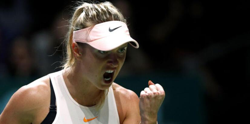 WTA Finalleri'nde Svitolina fırtınası