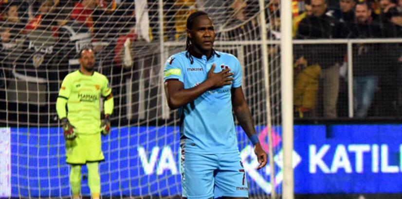 Rodallega, Göztepe maçını boş geçmedi!