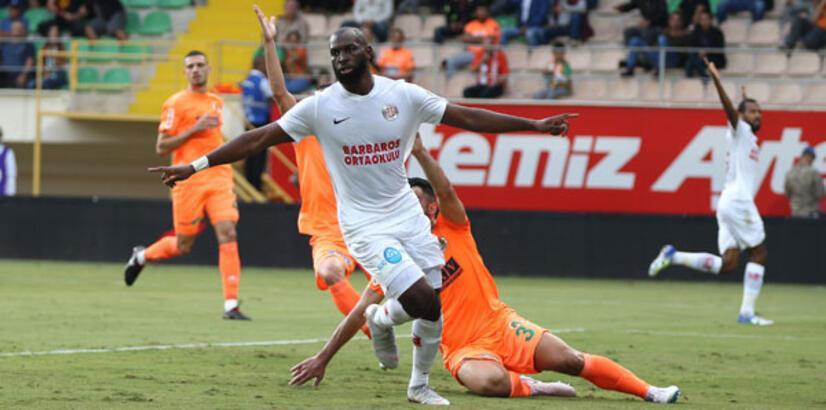 Aytemiz Alanyaspor - Antalyaspor: 0-1