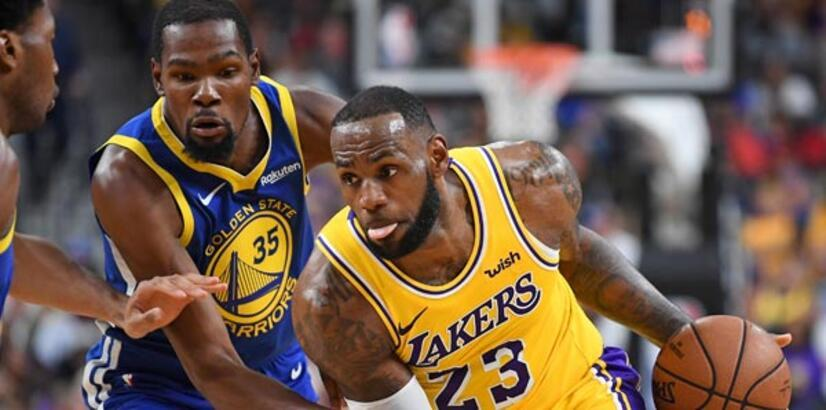 Los Angeles Laker, Warriors'u devirdi