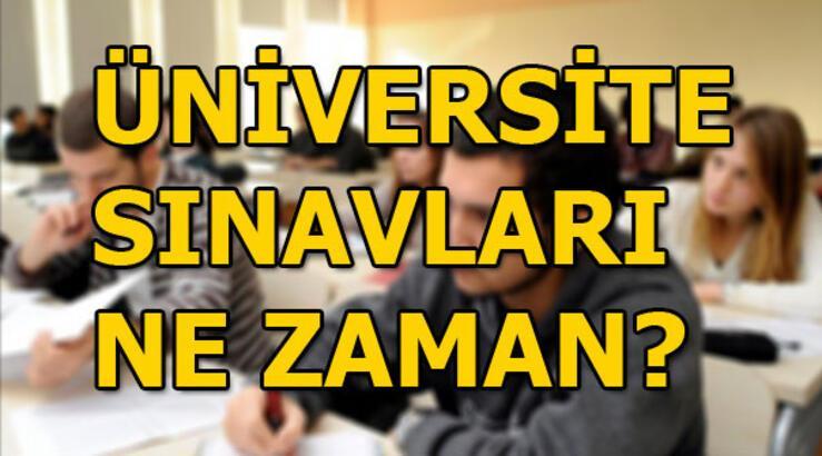 Üniversite sınavları ne zaman? ÖSYM YKS takvimini yayınladı...