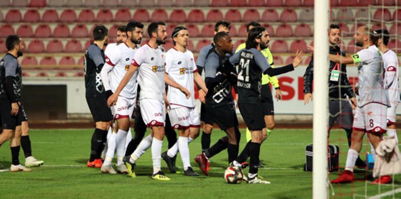 Osmanlıspor - Tetiş Yapı Elazığspor: 1-1