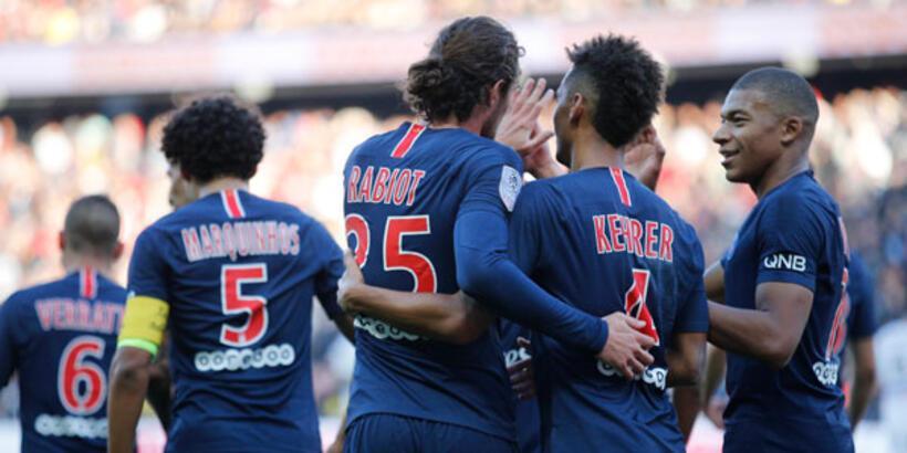 11'de 11 yapan PSG rekoru egale etti