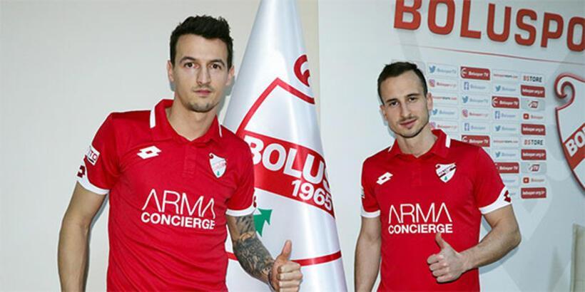 Boluspor, Vukadinovic ve Fink'le sözleşme imzaladı!