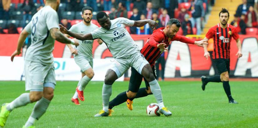 Osmanlıspor - Gazişehir Gaziantep: 0-1