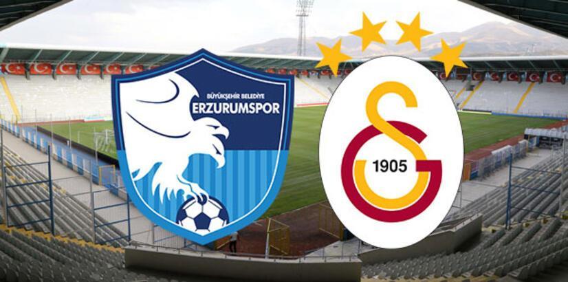 Erzurumspor Galatasaray maçı ne zaman saat kaçta hangi kanalda? İlk 11'ler...