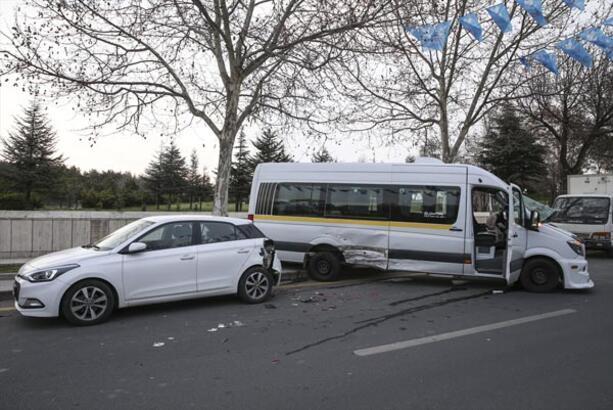Ankara'da kaza! Yaralılar var
