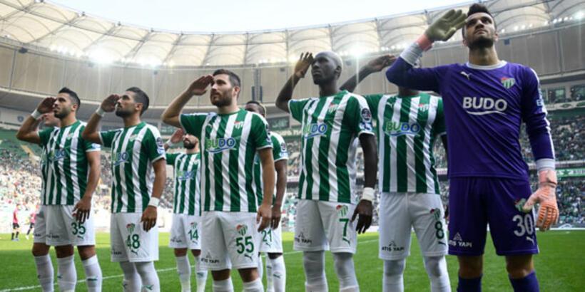 Süper Lig'de en fazla genç ve yerli oynatan kulüp Bursaspor