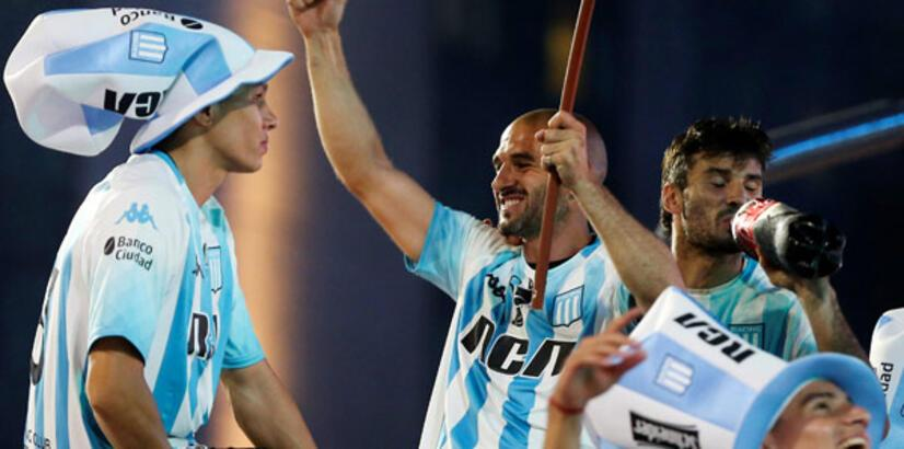 Arjantin'de şampiyon Racing Club