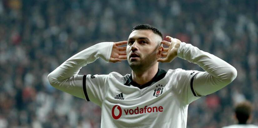 Beşiktaş'ın yeni kaptanı Burak Yılmaz