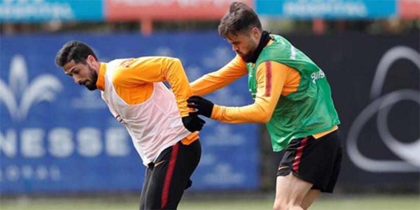 Galatasaray'da kupa hazırlığı