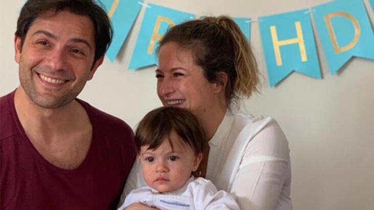 Canan Ergüder-Kenan Ece'nin oğulları Demir 1 yaşına girdi