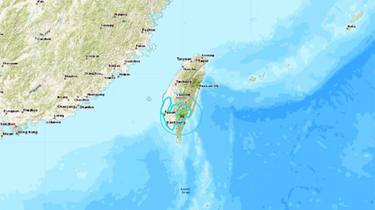 Son dakika... Tayvan'da deprem