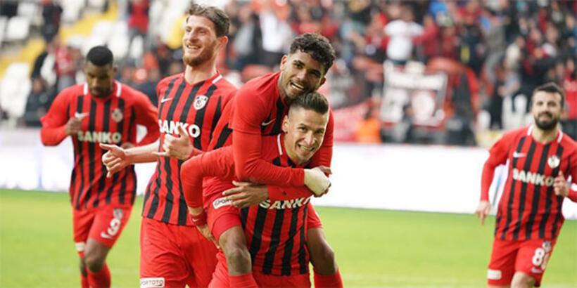 Gazişehir Gaziantep-Afjet Afyonspor: 1-0