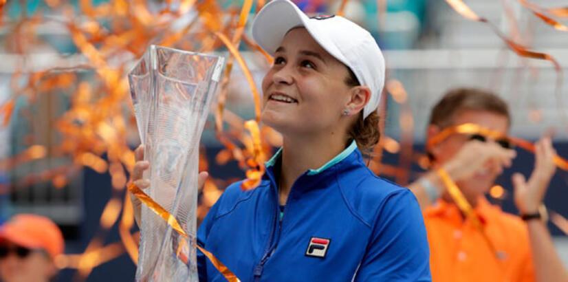 Miami Açık'ta şampiyon Barty