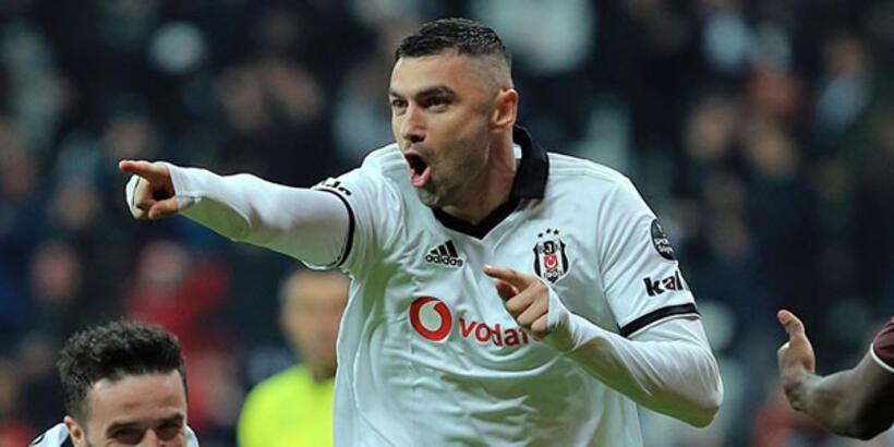 Beşiktaş'ta birinci kaptan Burak Yılmaz
