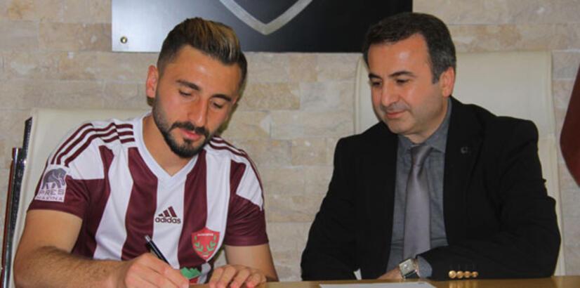 Hatayspor'da Yusuf ve Akın'ın sözleşmesi yenilendi