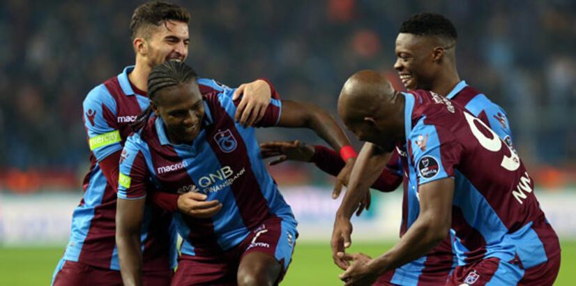 Trabzonspor'un muhteşem üçlüsünden 29 gol!