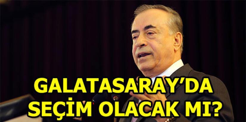Galatasaray'da seçim olacak mı? Galatasaray'da Mustafa Cengiz aday olacak mı?