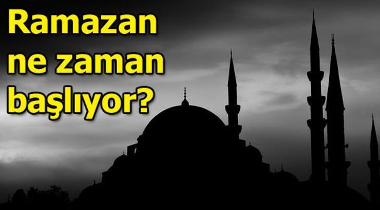 Ramazan başlangıcı ne zaman? 2019 Ramazan ne zaman?