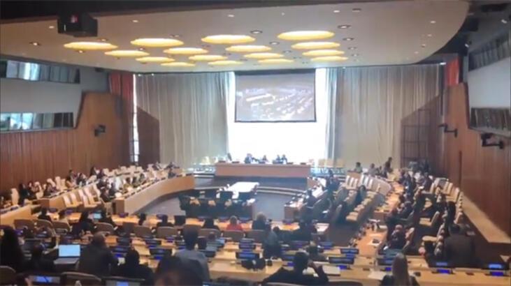 BM Güvenlik Konseyi'nin 55 yıldır kapalı olan perdeleri açıldı