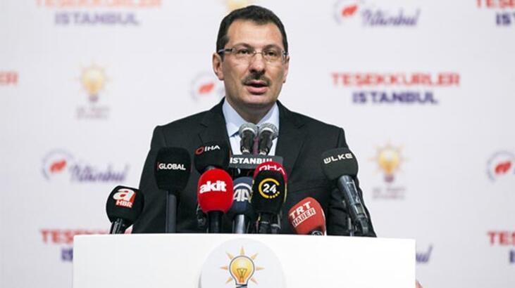 AK Parti Genel Başkan Yardımcısı Yavuz: AK Parti lehine oy 13 bin 969'dur