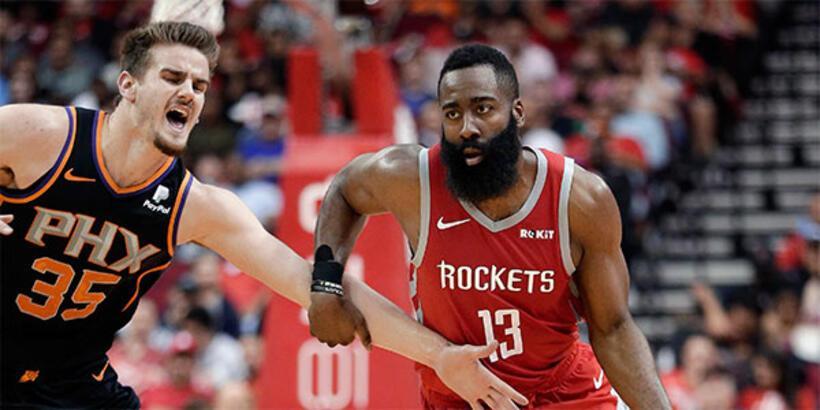 Houston Rockets'tan üçlük rekoru