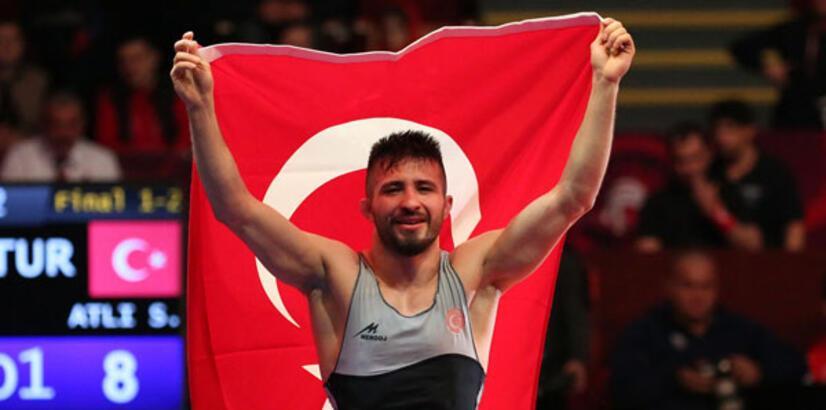 Süleyman Atlı'nın hedefi olimpiyatlar