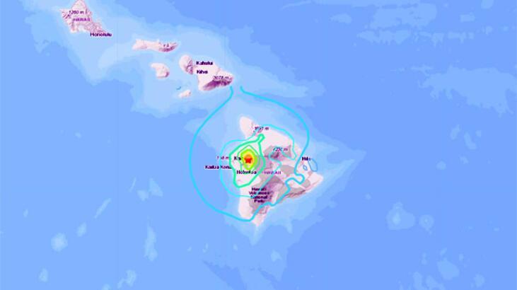 Son dakika... Hawaii'de deprem!