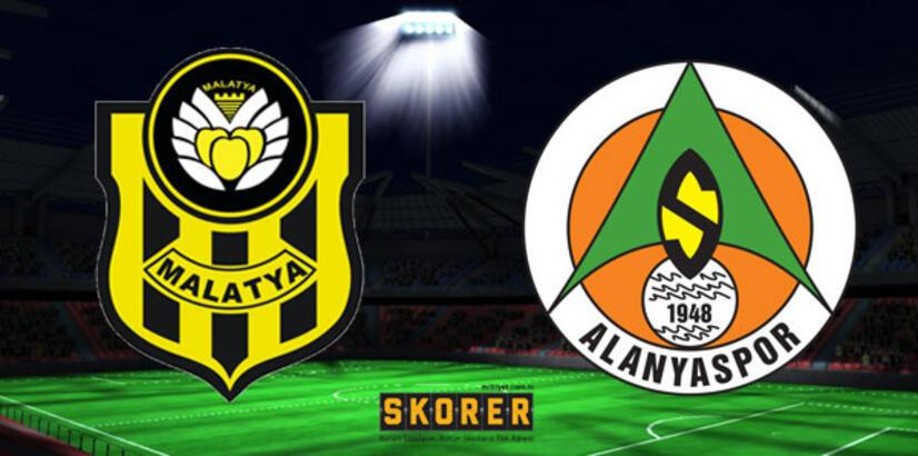 EY Malatyaspor -  Alanyaspor: 1-1