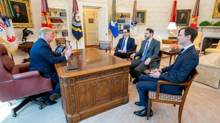 Son dakika: Beyaz Saray'da tarihi görüşme! Trump'a tüm mesajlar iletildi
