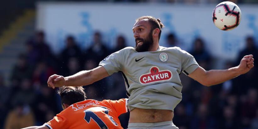 M.Başakşehir - Çaykur Rizespor: 1-1