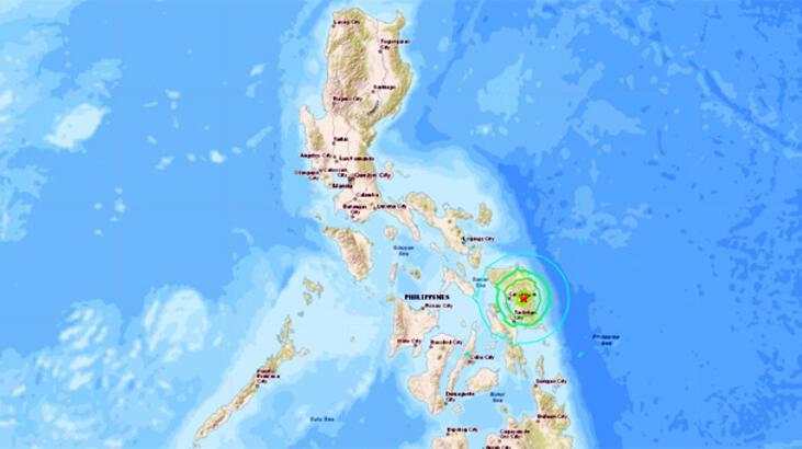 Son dakika... Filipinler'de bir deprem daha