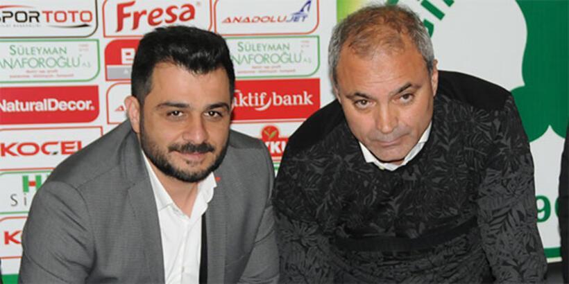 Giresunspor'da Erkan Sözeri imzayı attı